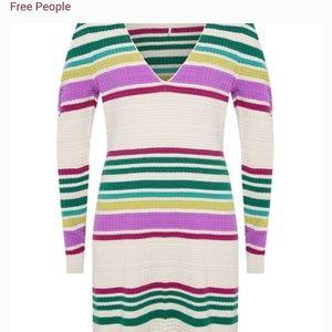 NWT Free People Medium Sweater Dress